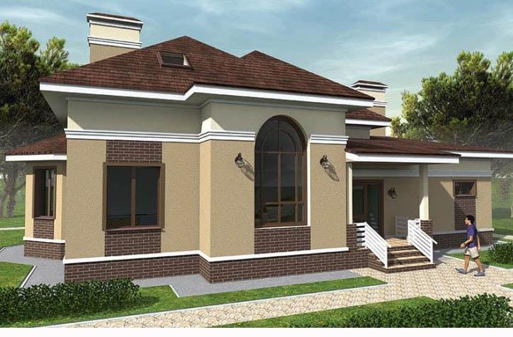 Проект дома современный