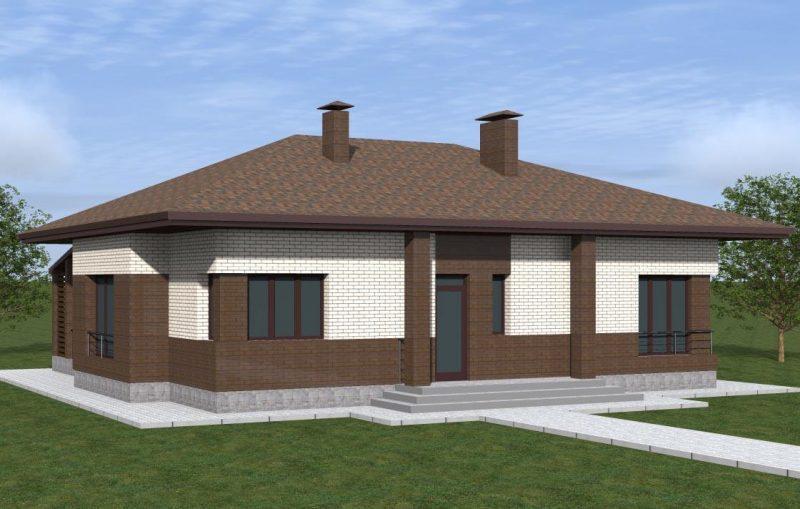 План дома до 120 кв м