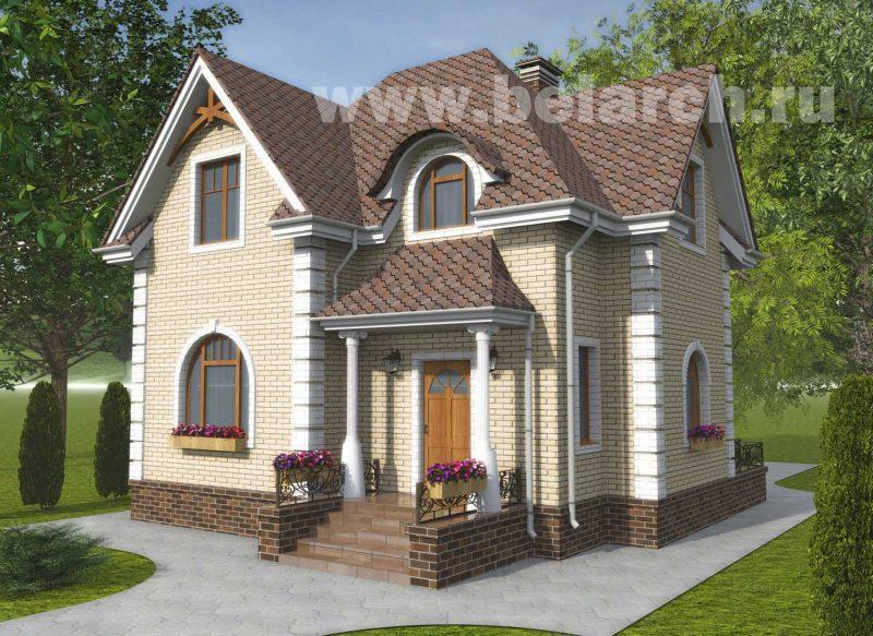 Проект дома с подвалом до 100 кв.м.