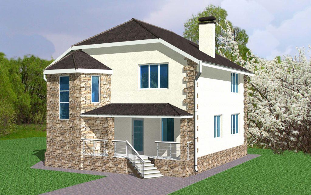 Проект дома до 200 м2