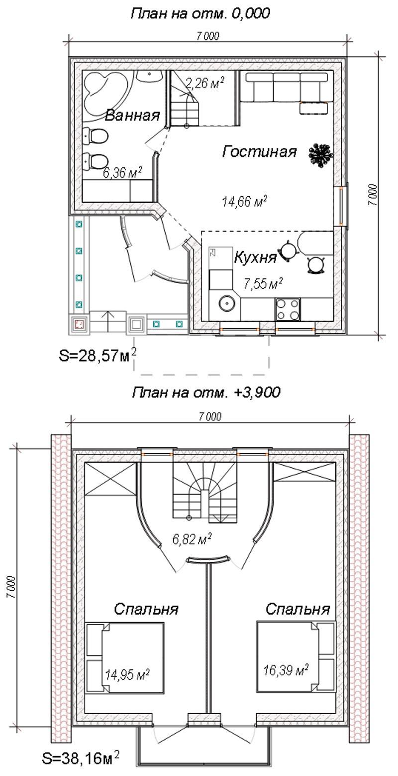 "Проект дома ""Квартирный"""