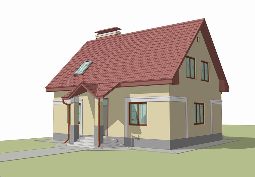 Проект дома 7 на 10