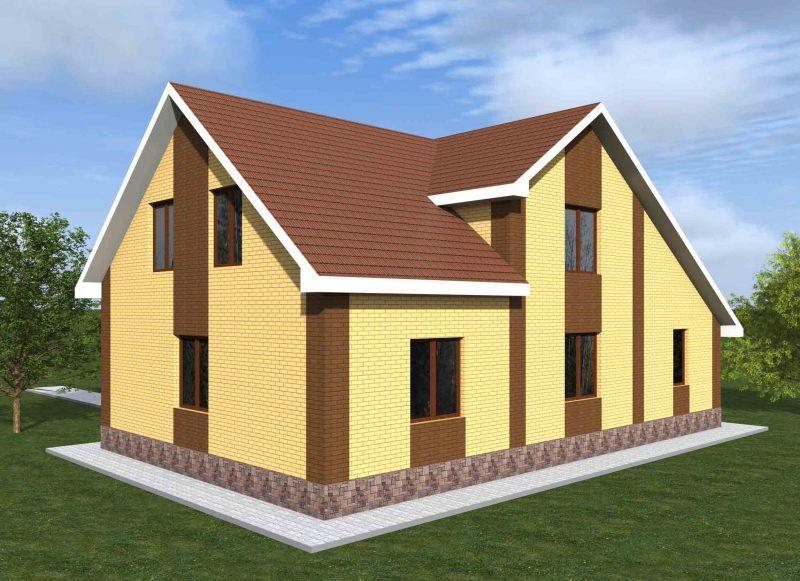 Проект дома 160 кв. м.