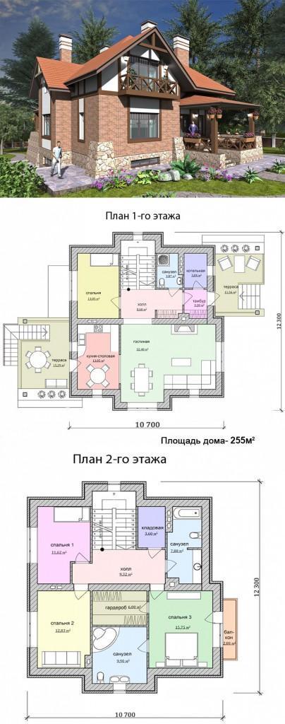 Проект стильного дома лучший выбор