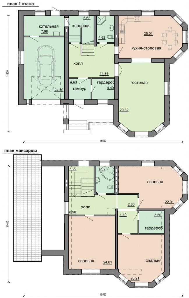 план авторского проекта дома