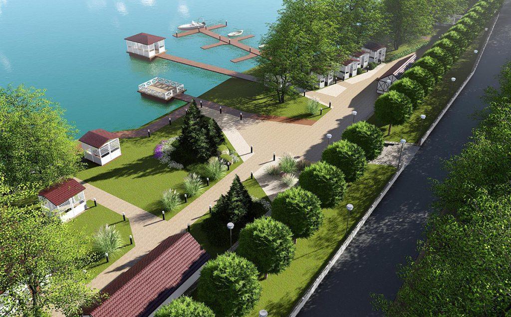 Проект благоустройства и озеленения прибрежной полосы