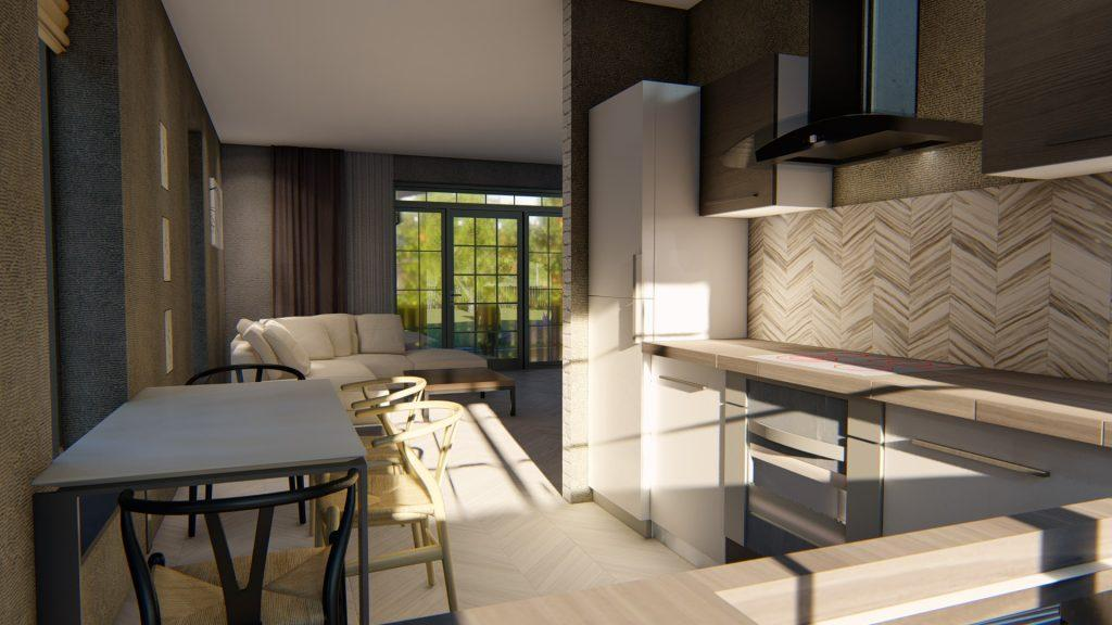 Готовый проект современного дома 12 на 13