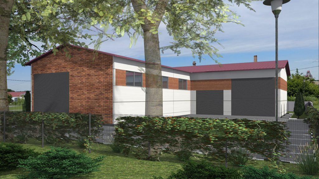 Проекты складских зданий и сооружений, АБК