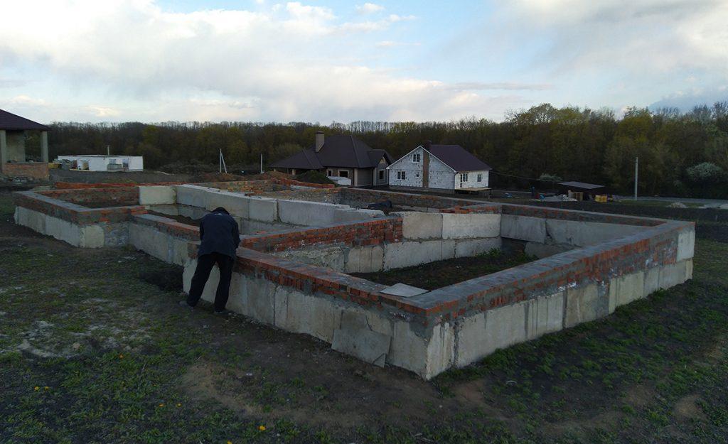 Разработка проекта дома для готового фундамента