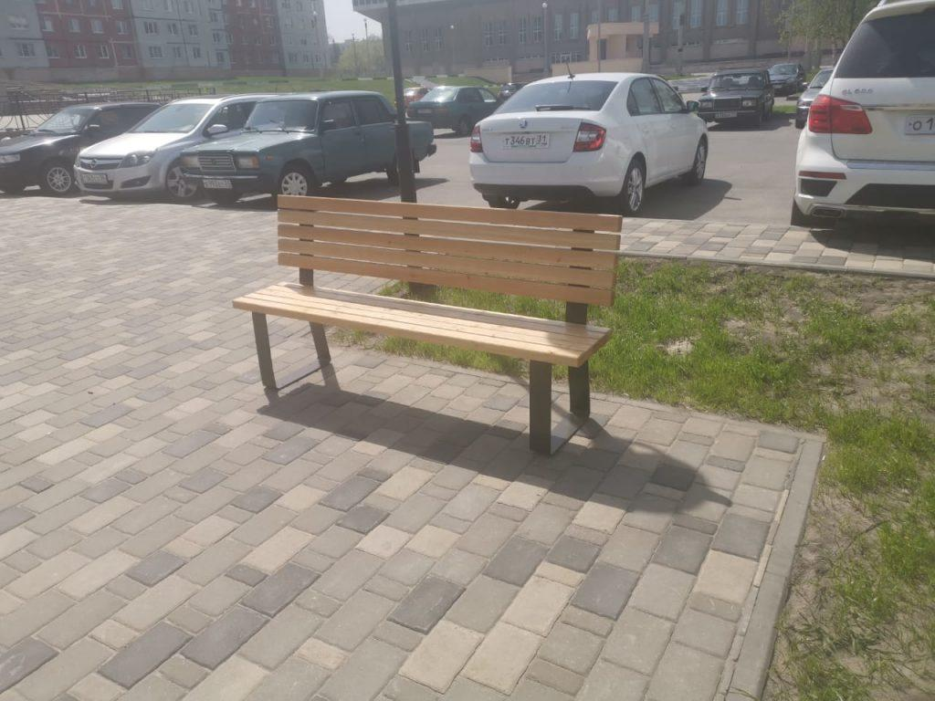 Купить скамью (набережная, парковая), лавочку, урну в Белгороде