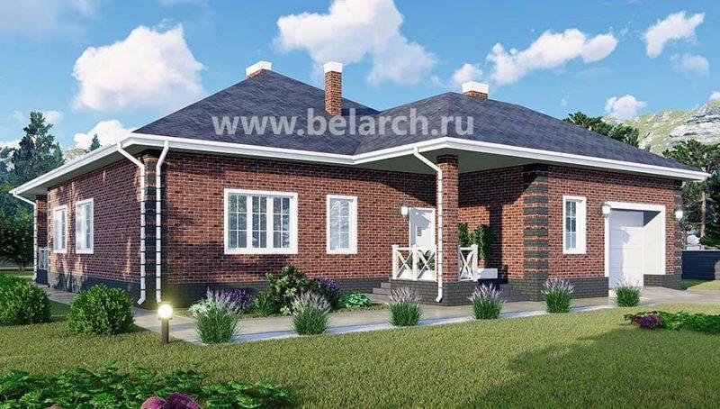 Дом с тремя спальнями, гаражом и гостиной