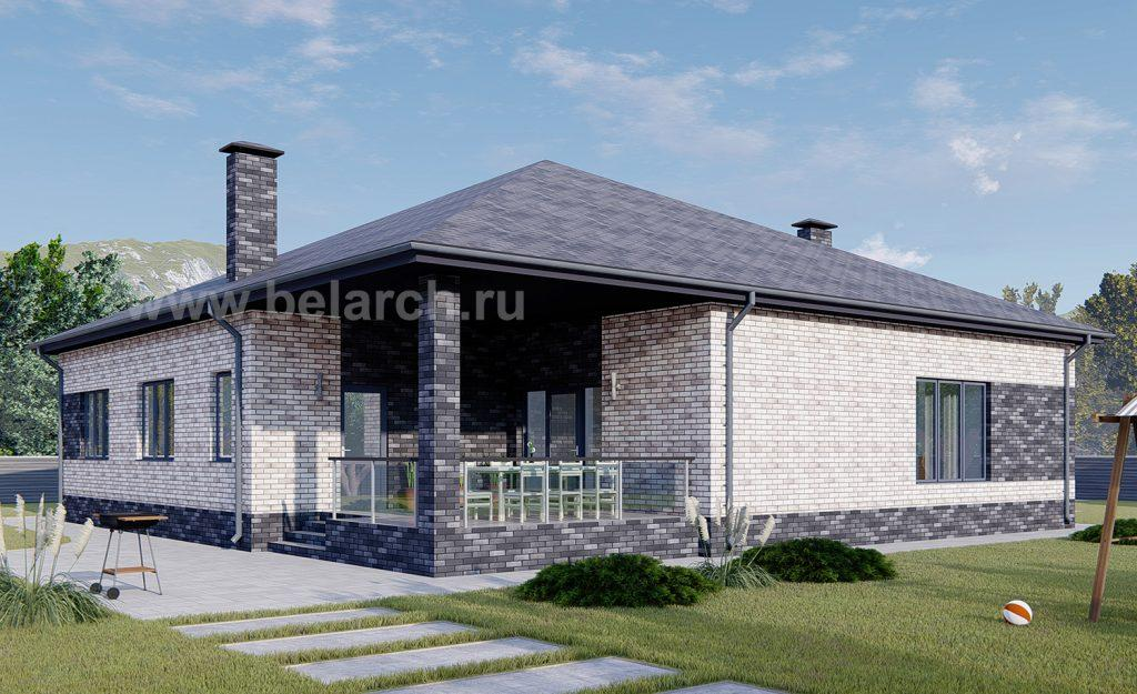 Проект кирпичного дома до 180 кв.м.