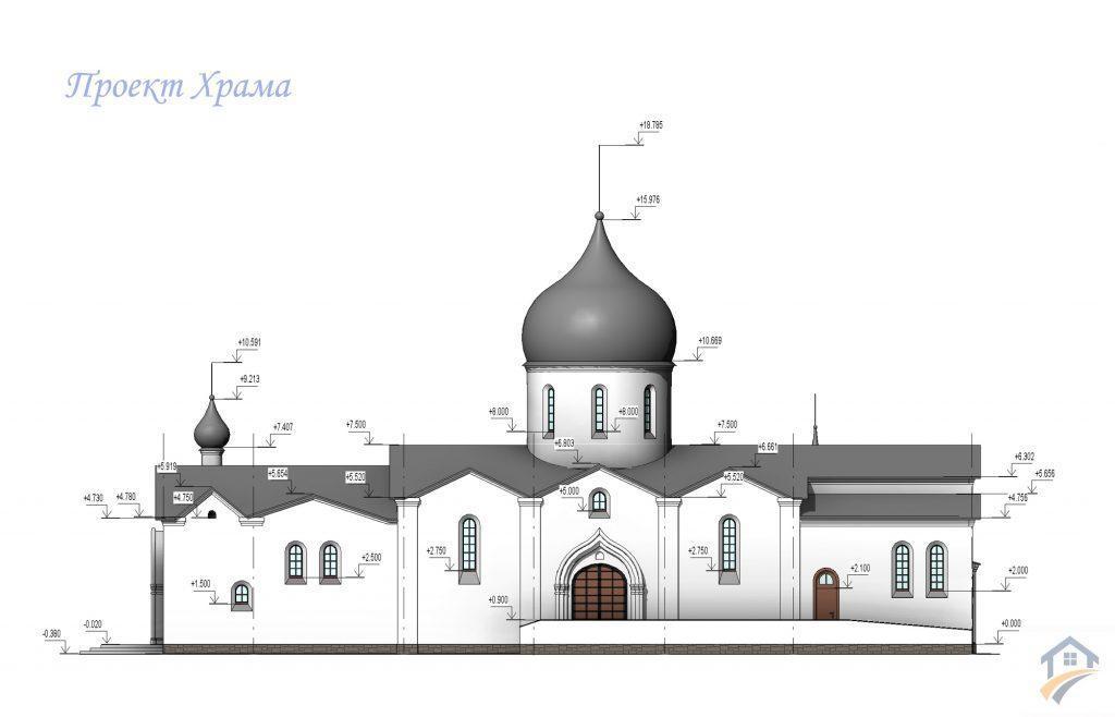 Проект храма заказать