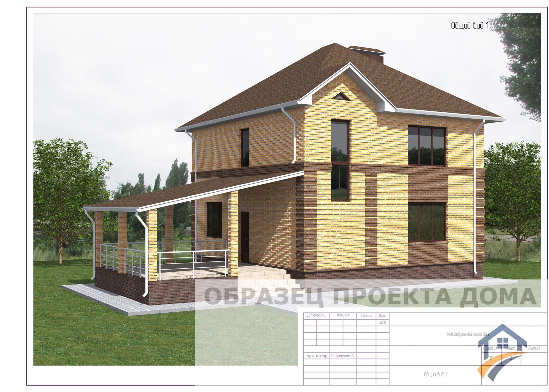Состав проекта дома
