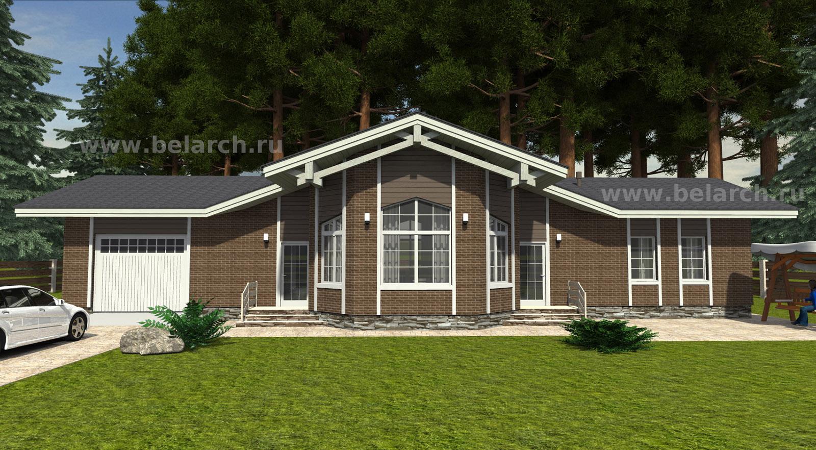 Проект вытянутого дома